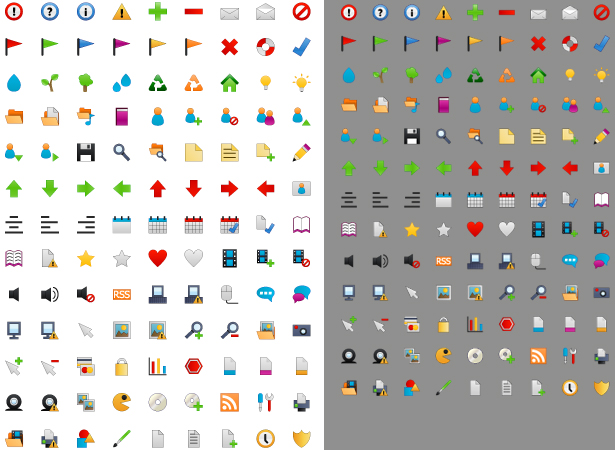 Free Tiny Icon Set