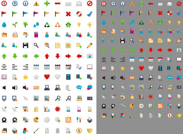 Free Tiny Icon Set