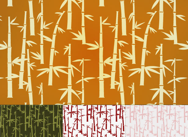 Free Bamboo Pattern Set