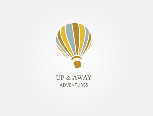 Logo Concept: Up and Away Adventures