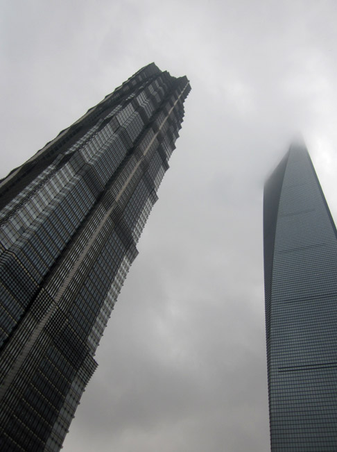 Travel in Shanghai Blog: On the 91st floor of the Park Hyatt Shanghai