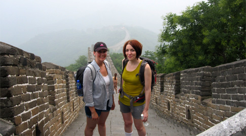 Beijing Travel: Climbing the Great Wall between MuTianYu and HouJianKou