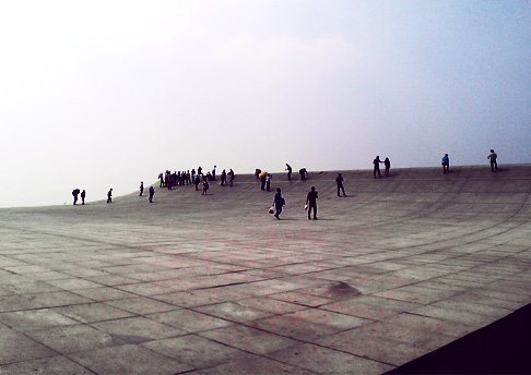Travel in Dalian China: The Book Monument Retro Style