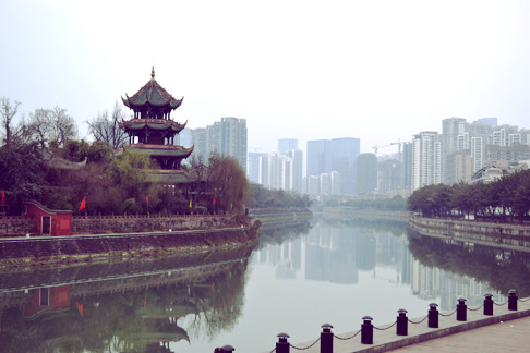 Chinese New Year in Chengdu: China travel blog Sichuan