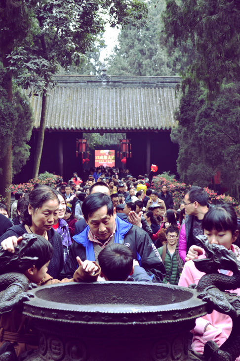 Chengdu Temple Fair: Chinese New Year Travel Blog