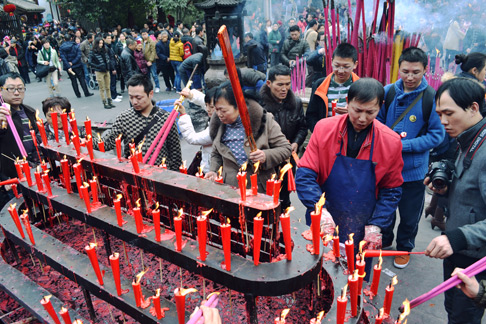 Chinese New Years: What to do in Chengdu