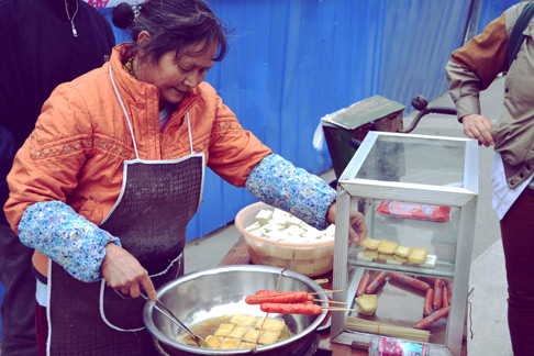 Spring Festival: Chengdu travel blog sichuan food stinky tofu