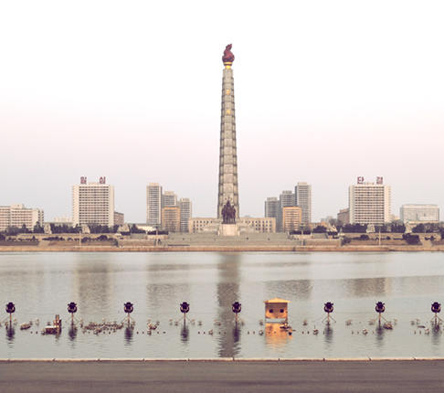 juche-tower-over-water
