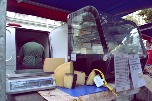 Expat Travel Blog: Czech Cheese Counter at Prague Farmer's Market