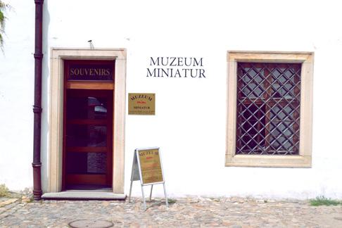 Czech Travel Blog: Prague Museum of Miniatures front door