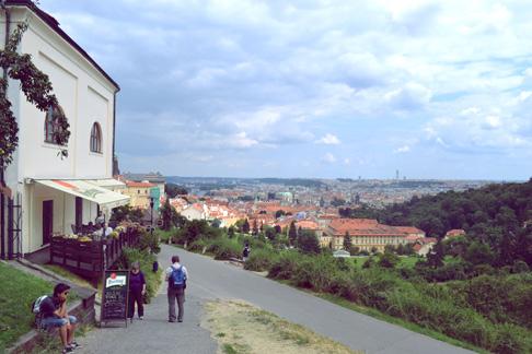 Beijing Expat Travel Blog: Summer Picnic Near Prague Castle, Prague Overlook