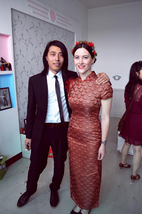 China Travel Blog: Bride and Groom Wedding in Hebei Near Beijing
