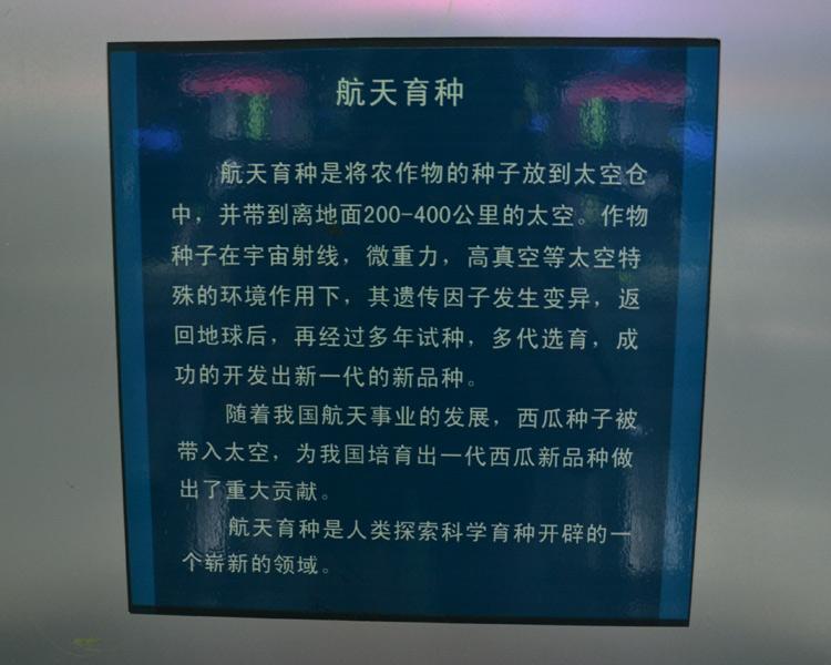 Beijing Watermelon Museum: Beijing China Urban Exploration Travel - Watermelons in Space